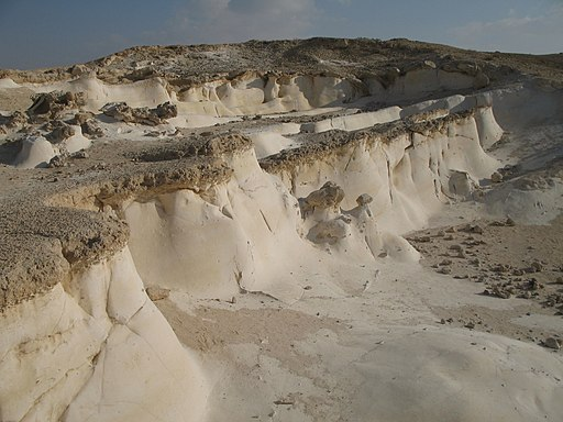 Nitzana chalk curves (4), Western Negev, Israel