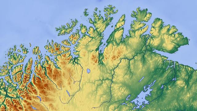 FileNorth Norwaypng Wikimedia Commons - Norway vegetation map