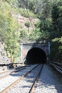 Woy Woy Tunnel railway tunnel in New South Wales, Australia