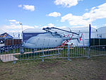 Northrop Grumman MQ-8C Fire Scout on display at the 2015 Australian International Airshow.jpg