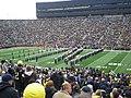 Northwestern vs. Michigan football 2012 03 (Northwestern band).jpg