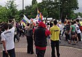 Nottingham Pride MMB 36 Pride march meets homophobic Muslims.jpg