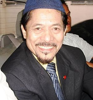 Zamboanga City crisis - Nur Misuari, chairman of the Moro National Liberation Front, and governor of ARMM from 1996 to 2002.