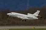 OO-FFE Dassault Falcon 900EX EASy F900 - AAB (25644694024).jpg