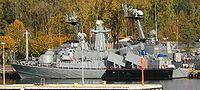 Polish Balcom 10 class speedboat