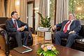 O Υπουργός Εξωτερικών Νίκος Κοτζιάς με τον Υπουργό Εξωτερικών της Βουλγαρίας Daniel Mitov, Σόφια, 18.6.2015 (18923634971).jpg