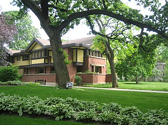 Peter A. Beachy House - Image: Oak Park Il Beachy House 1