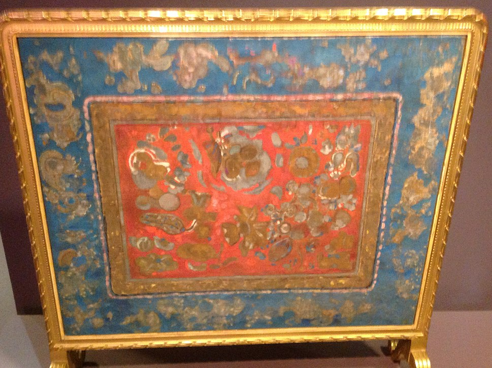 Odilon Redon fireplace screen