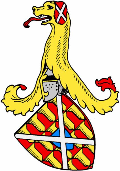 Thaler 1544. Carlos V. Ottingen. 420px-Oettingen_Arms