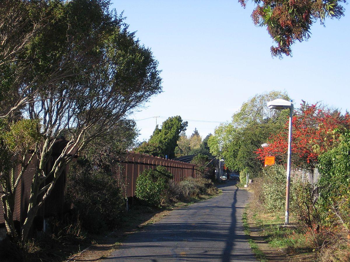 Mini Of San Francisco >> Ohlone Greenway - Wikipedia