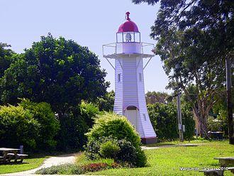 Old Burnett Heads Light - The Burnett Heads Lighthouse Holiday Park