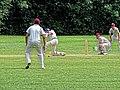 Old Finchleians Cricket Club v Highgate Taverners Cricket Club at Finchley, London, England 01.jpg