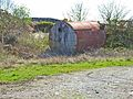 Old tank by the roadside - geograph.org.uk - 319656.jpg