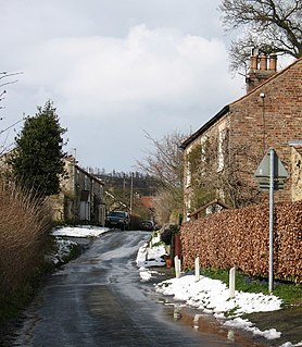 Oldstead Village and civil parish in North Yorkshire, England