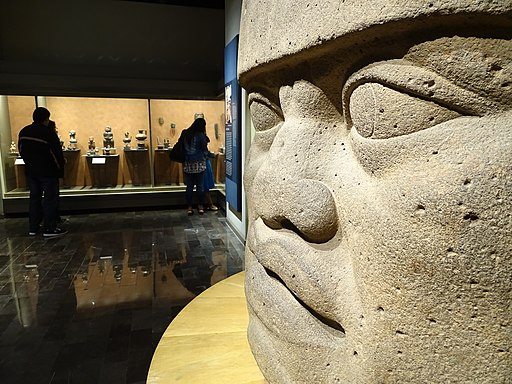 Olmec Figure - Museum of Anthropology - Mexico