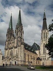 Tšekki-Väestö-Olomouc Katedrala Sv. Vaclava