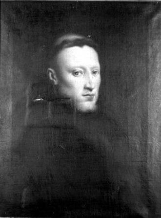 Onofrio Panvinio - Portrait of Onofrio Panvinio by Tintoretto, c. 1555