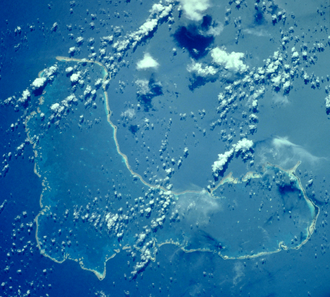 Ontong Java Atoll - NASA picture of Ontong Java Atoll