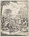 Op het eiland Formosa wordt een man als straf voor diefstal levend begraven, RP-P-1896-A-19368-1315.jpg