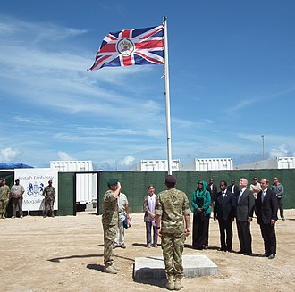 Somalia–United Kingdom relations - A year after the establishment of the Federal Government of Somalia in 2012, the United Kingdom became the first Western country to re-open its embassy in the country since 1991.