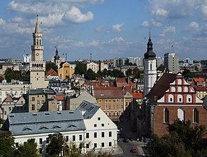 Opole Voivodeship - Opole, the voivodeship's capital