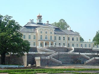 Alexander Danilovich Menshikov - Image: Oranienbaum Palace