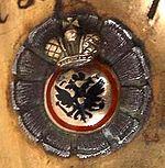 Знак ордена Св. Анны 4-й степени для офицеров не христианской веры на шашке 1841 года