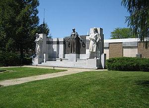 The Soldiers' Monument (Oregon, Illinois) - Lorado Taft's The Soldier's Monument in Oregon, Illinois.