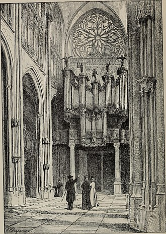 George Ashdown Audsley - Illustration from Organ-stops and their artistic registration - names, forms, construction, tonalities, and offices in scientific combination (1921) by George Ashdown Audsley