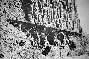 Kingman Pass - Image: Original Kingman Trestle 1885