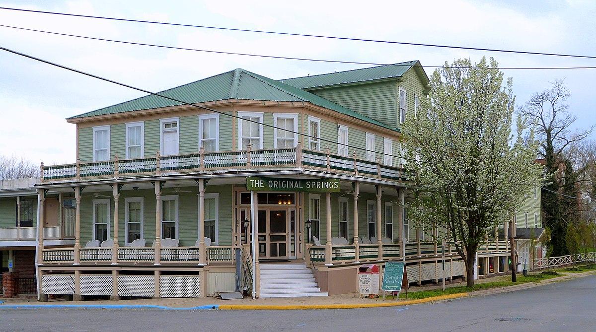 Original springs hotel and bathhouse wikipedia for Hotel original