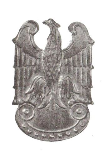 Armia Ludowa - People's Army eagle insignia