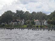 Riverfront Mansions in Ortega