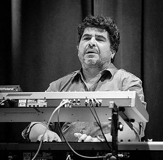Otmaro Ruíz - Ruiz on stage at Simon Phillips concert in Oslo (2017)