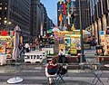 Outdoor Seating and NYPD Anti-Terrorism Barricades, New York City (44518211614).jpg