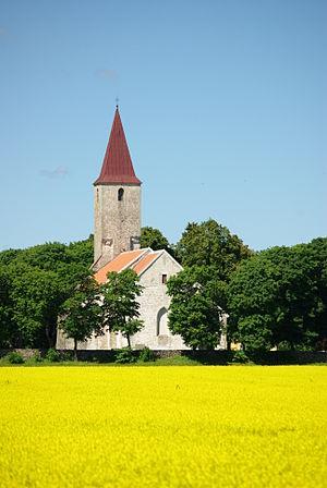 Püha, Saare County - Püha church