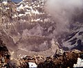 P1240368 Looking into the crater of Popocatepetl from the summit in 1971.jpg