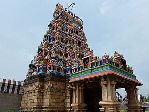 Perur - Vimahana of Patteeshwarar temple
