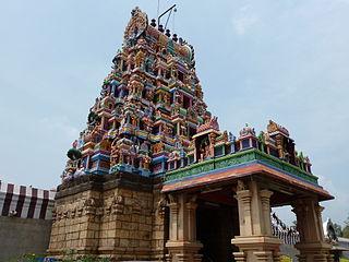 Perur Neighbourhood in Coimbatore, Tamil Nadu, India