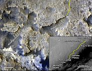 PIA18408-MarsCuriosityRover-TraverseMap-Sol705-20140731