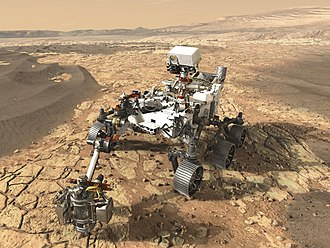Mars 2020 - Artist concept of the Mars 2020 rover (May 23, 2017)