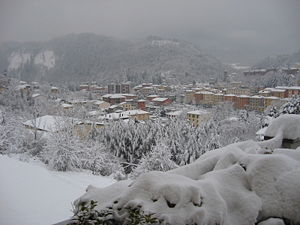 Alto Reno Terme - View of Porretta Terme.