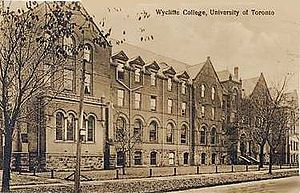English: Old Wycliffe College photo