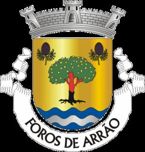 Foros de Arrão - Image: PSR forosarrao