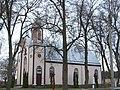 Paįstrys, bažnyčia iš šono.JPG
