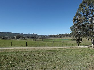 Birnam, Queensland (Scenic Rim Region) - Paddocks along Beaudesert Beenleigh Road, 2014