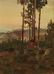Landscape and Shepherdess
