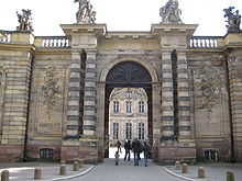 Palais Rohan Strasbourg France Gates April 2010.JPG