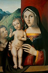 Madonna z Dzieciątkiem i małym św. Janem Chrzcicielem