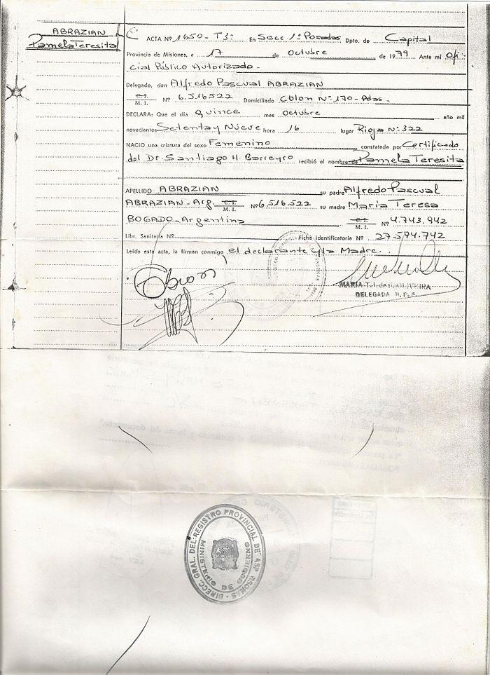 Lujoso Certificado De Nacimiento De Carolina Del Sur Componente ...